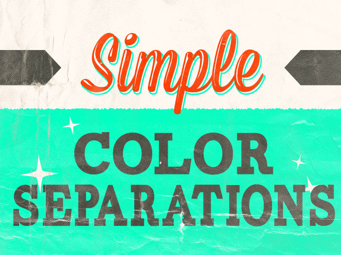 Color Separations in Photoshop
