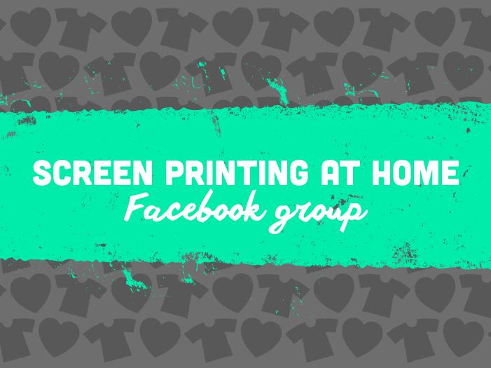 screen printing at home pdf